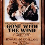 """Poster - Gone With the Wind 01"" di Employee(s) of MGM - http://www.doctormacro.com/Movie%20Summaries/G/Gone%20With%20the%20Wind.htm. Con licenza Public domain tramite Wikimedia Commons - http://commons.wikimedia.org/wiki/File:Poster_-_Gone_With_the_Wind_01.jpg#mediaviewer/File:Poster_-_Gone_With_the_Wind_01"
